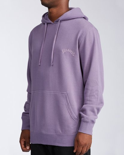 1 Wave Washed Pullover Hoodie Purple ABYKT00113 Billabong