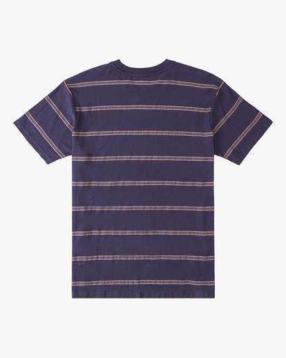 5 Die Cut Crew Neck T-Shirt Blue ABYKT00118 Billabong