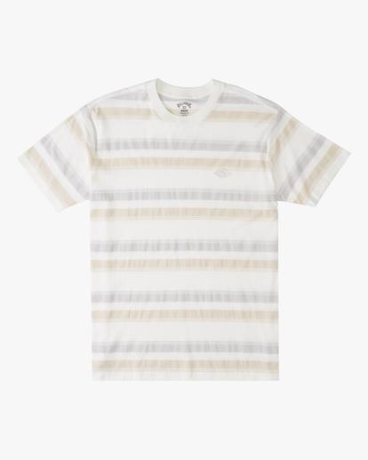 4 Die Cut Crew Neck T-Shirt White ABYKT00118 Billabong
