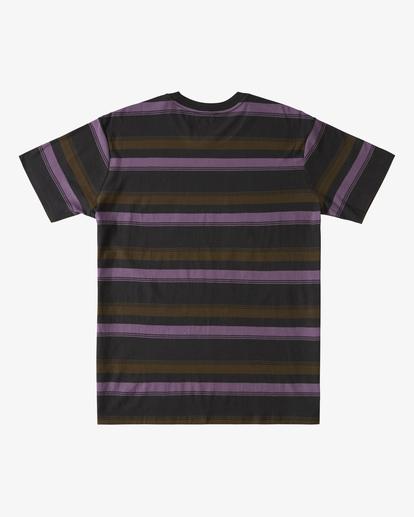 5 Die Cut Crew Neck T-Shirt Black ABYKT00118 Billabong