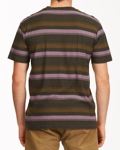 2 Die Cut Crew Neck T-Shirt Black ABYKT00118 Billabong