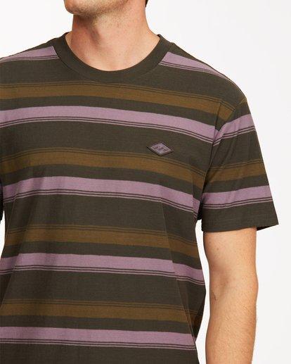 3 Die Cut Crew Neck T-Shirt Black ABYKT00118 Billabong