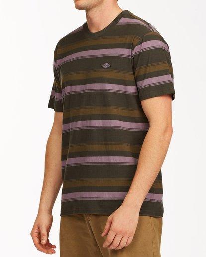 1 Die Cut Crew Neck T-Shirt Black ABYKT00118 Billabong