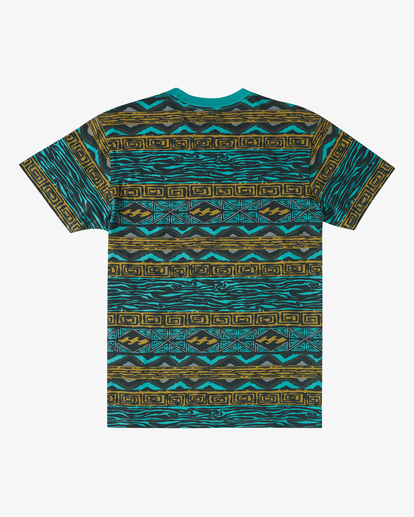 4 Halfrack Crew Neck Short Sleeve T-Shirt Green ABYKT00122 Billabong