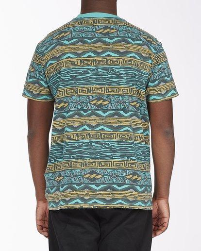 2 Halfrack Crew Neck Short Sleeve T-Shirt Green ABYKT00122 Billabong