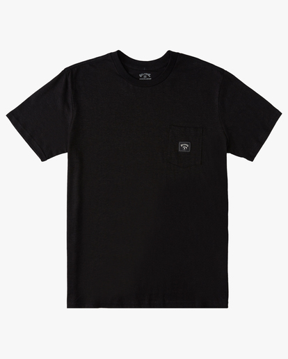 0 A/Div Sonoma Hemp Pocket T-Shirt Black ABYKT00128 Billabong
