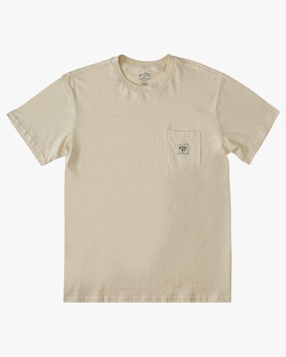 3 A/Div Sonoma Hemp Pocket T-Shirt Red ABYKT00128 Billabong