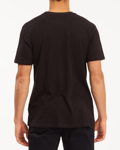 2 A/Div Sonoma Hemp Pocket T-Shirt Black ABYKT00128 Billabong