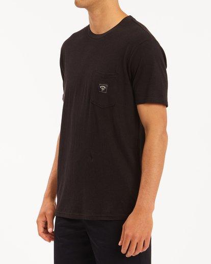 1 A/Div Sonoma Hemp Pocket T-Shirt Black ABYKT00128 Billabong