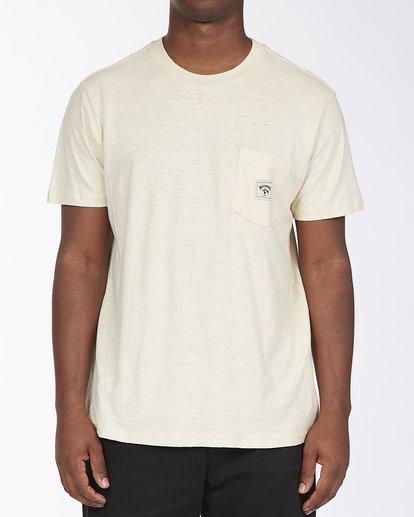 0 A/Div Sonoma Hemp Pocket T-Shirt Red ABYKT00128 Billabong