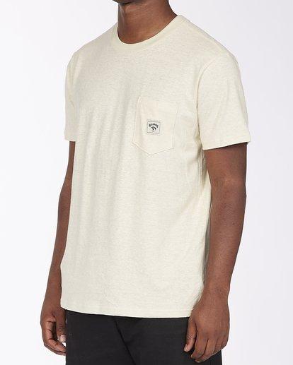 1 A/Div Sonoma Hemp Pocket T-Shirt Red ABYKT00128 Billabong