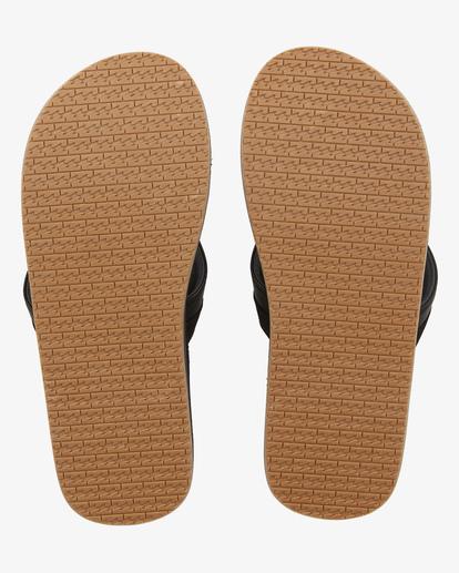 1 All Day Impact Print Slip-On Sandals Black ABYL100002 Billabong