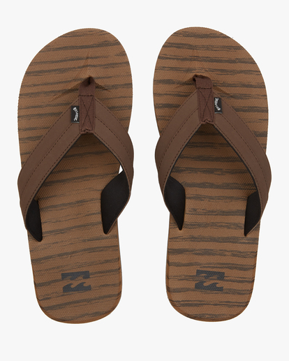 0 All Day Impact Texture Sandal Brown ABYL100003 Billabong