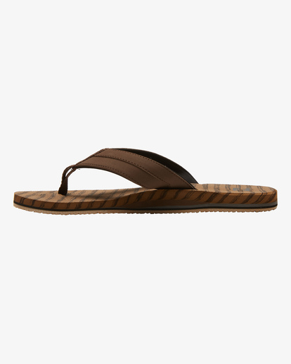 2 All Day Impact Texture Sandal Brown ABYL100003 Billabong