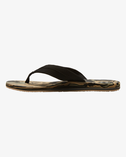 2 All Day Impact Texture Sandal Black ABYL100003 Billabong