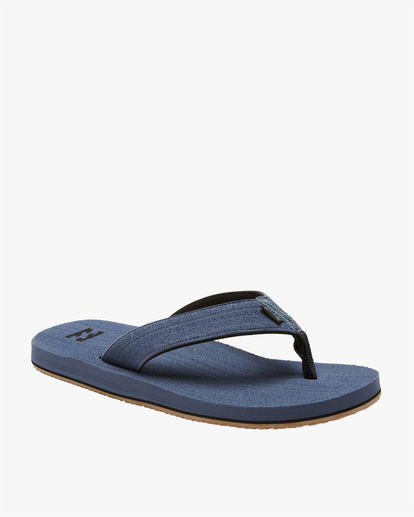 0 All Day Impact Brushed Sandal Blue ABYL100005 Billabong