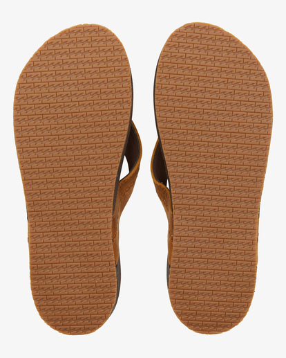 1 BRUNSWICK LEATHER THONG Brown ABYL100008 Billabong