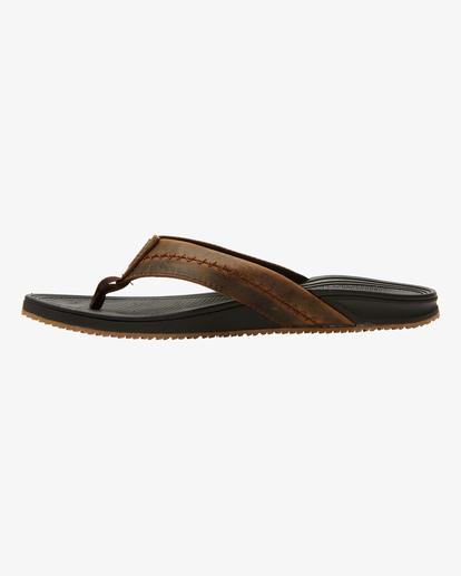 2 Brunswick Thong Sandal Black ABYL100009 Billabong
