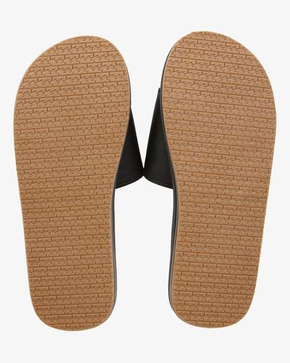 1 All Day Impact Print Slide Sandals Black ABYL100012 Billabong