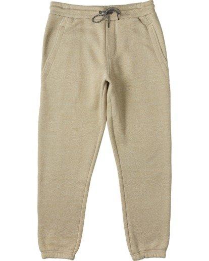 3 Hudson Fleece Pant Beige ABYNP00101 Billabong