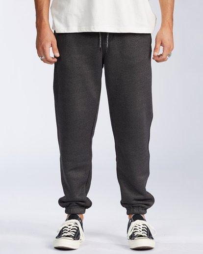 0 Hudson Fleece Pant Black ABYNP00101 Billabong