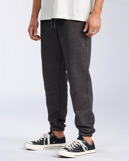 1 Hudson Fleece Pant Black ABYNP00101 Billabong