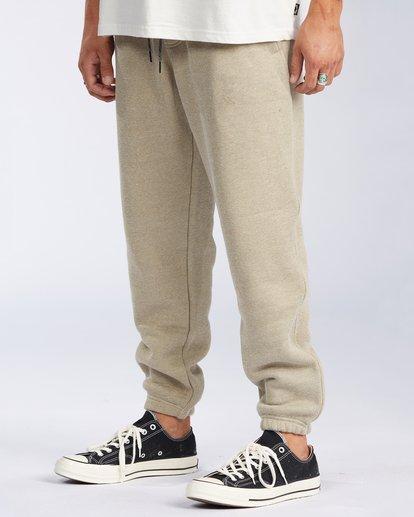 1 Hudson Fleece Pant Beige ABYNP00101 Billabong