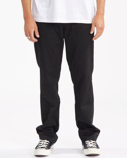 0 Carter Stretch Chino Pants Black ABYNP00110 Billabong