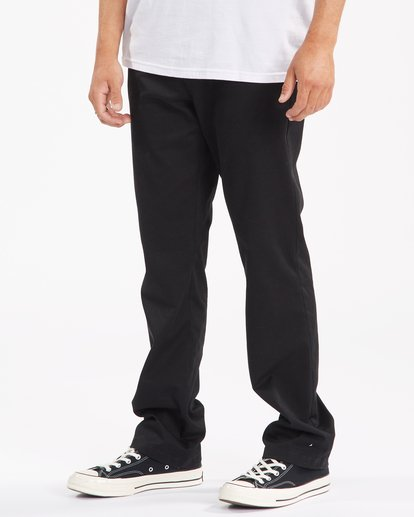 1 Carter Stretch Chino Pants Black ABYNP00110 Billabong
