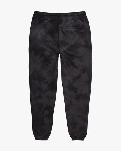 5 Wave Washed Tie-Dye Sweatpants Black ABYNP00117 Billabong