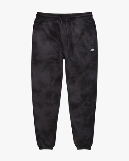 4 Wave Washed Tie-Dye Sweatpants Black ABYNP00117 Billabong