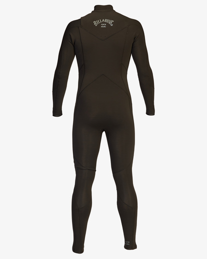 3 4/3 Absolute Chest Zip Full Wetsuit Black ABYW100103 Billabong
