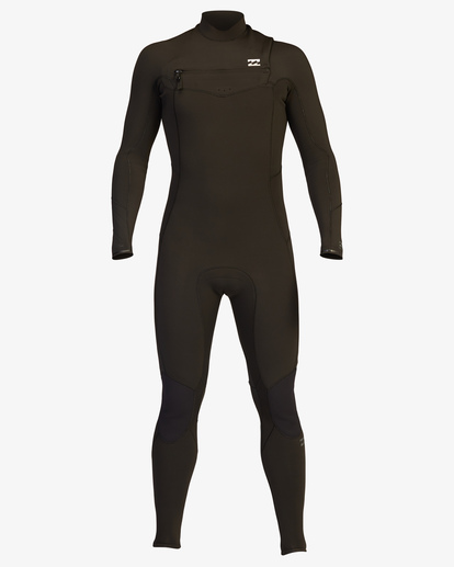 1 4/3 Absolute Chest Zip Full Wetsuit Black ABYW100103 Billabong