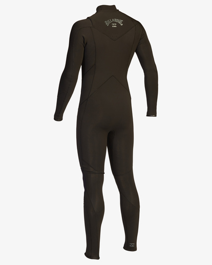 4 4/3 Absolute Chest Zip Full Wetsuit Black ABYW100103 Billabong