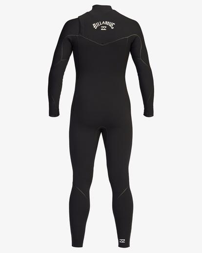 3 3/2 Furnace Chest Zip Full Wetsuit Black ABYW100115 Billabong