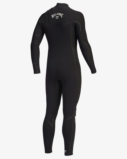 2 3/2 Furnace Chest Zip Full Wetsuit Black ABYW100115 Billabong