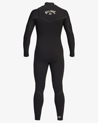 3 4/3 Furnace Chest Zip Full Wetsuit Black ABYW100116 Billabong