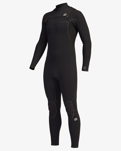 0 4/3 Furnace Chest Zip Full Wetsuit Black ABYW100116 Billabong