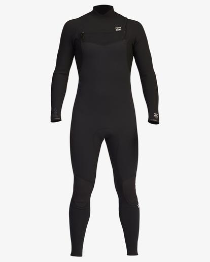 2 3/2 Furnace Comp Chest Zip Full Wetsuit Black ABYW100121 Billabong