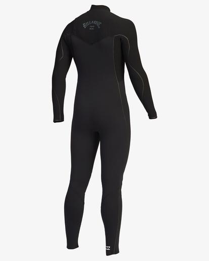 3 3/2 Furnace Comp Chest Zip Full Wetsuit Black ABYW100121 Billabong