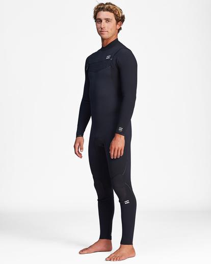 0 3/2 Furnace Comp Chest Zip Full Wetsuit Black ABYW100121 Billabong