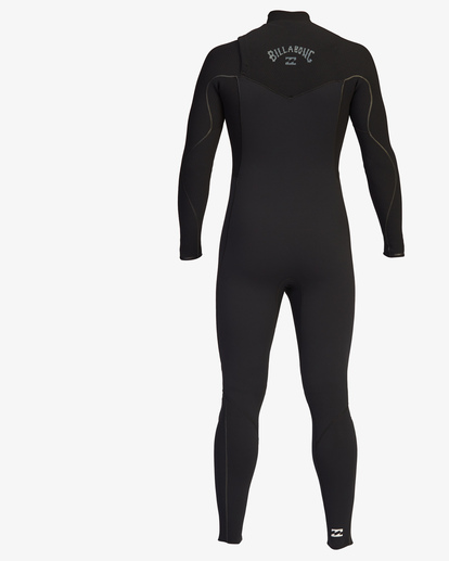 3 4/3 Furnace Comp Chest Zip Full Wetsuit Black ABYW100122 Billabong