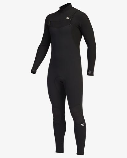 0 4/3 Furnace Comp Chest Zip Full Wetsuit Black ABYW100122 Billabong