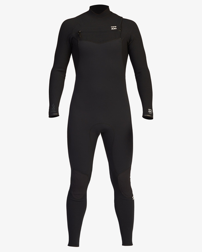 1 4/3 Furnace Comp Chest Zip Full Wetsuit Black ABYW100122 Billabong