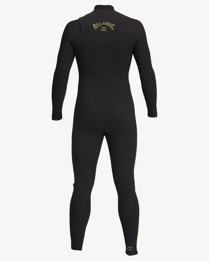 3 4/3 Revolution Pro Chest Zip Full Wetsuit Green ABYW100125 Billabong