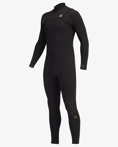 0 4/3 Revolution Pro Chest Zip Full Wetsuit Green ABYW100125 Billabong
