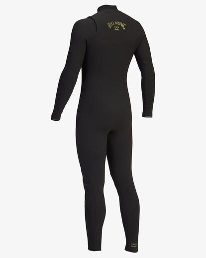 4 4/3 Revolution Pro Chest Zip Full Wetsuit Green ABYW100125 Billabong