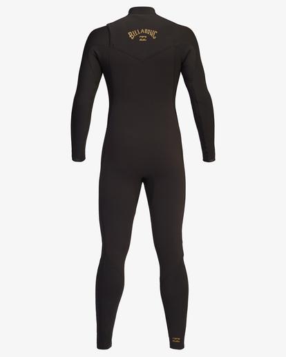 6 3/2 Revolution Chest Zip Full Wetsuit Black ABYW100127 Billabong