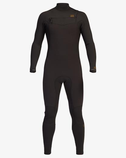 4 3/2 Revolution Chest Zip Full Wetsuit Black ABYW100127 Billabong