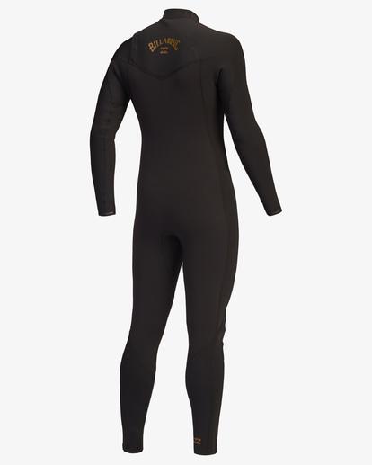 5 3/2 Revolution Chest Zip Full Wetsuit Black ABYW100127 Billabong